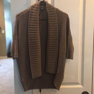 Express Knit Cardigan (light brown)